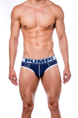 PUMP Blue Steel Breathable Micro Mesh Brief