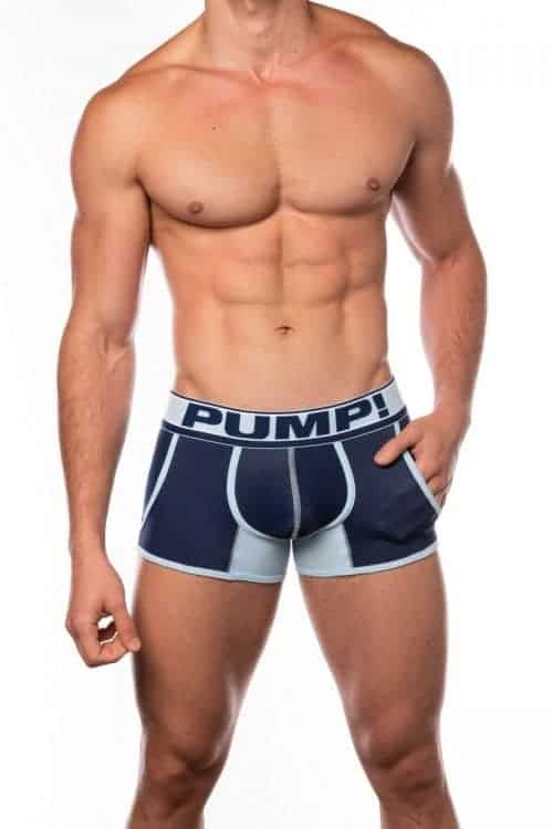 PUMP Blue Steel Jogger with Mesh Pouch + Pockets