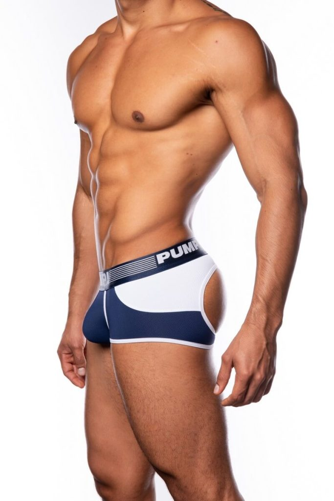 PUMP Access Bottomless Boxer, Navy