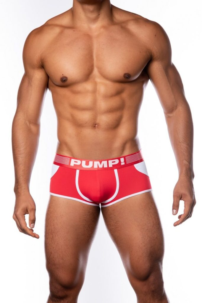 PUMP Access Backless Boxer, Red