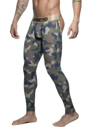 ADDICTED Bottomless Camouflage Long Johns
