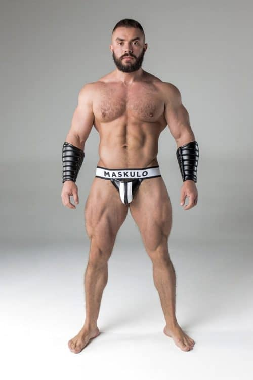 MASKULO FETISH LEATHER JOCKSTRAP