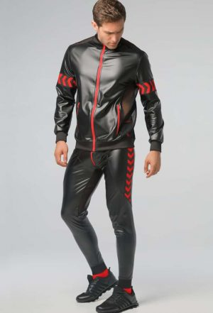 MASKULO SKULLA JACKET RED