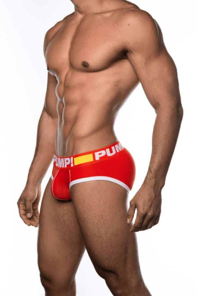 PUMP Underwear Mens Flash Micro Mesh Brief