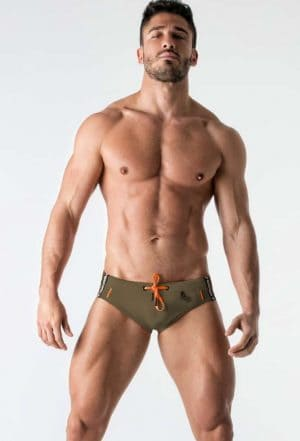 MASKULO BeGuard Swimming Brief Green