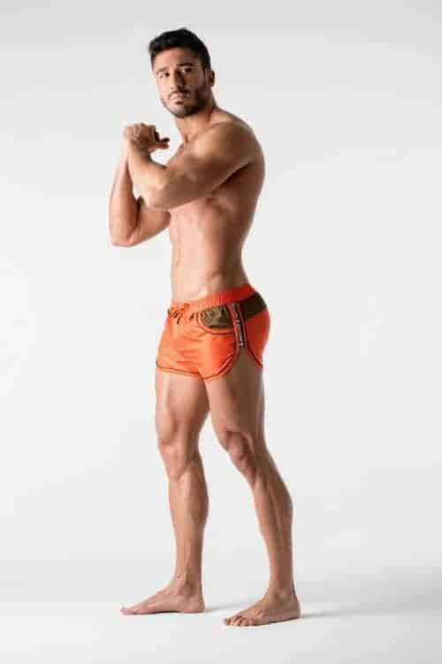 MASKULO BEGUARD CLUB SHORT WITH MESH