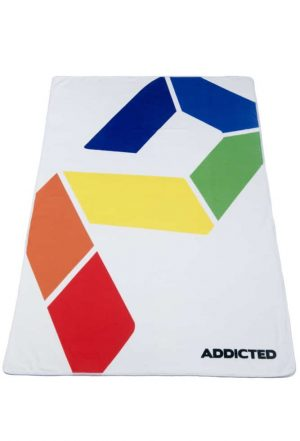 AD RAINBOW LOGO TOWEL