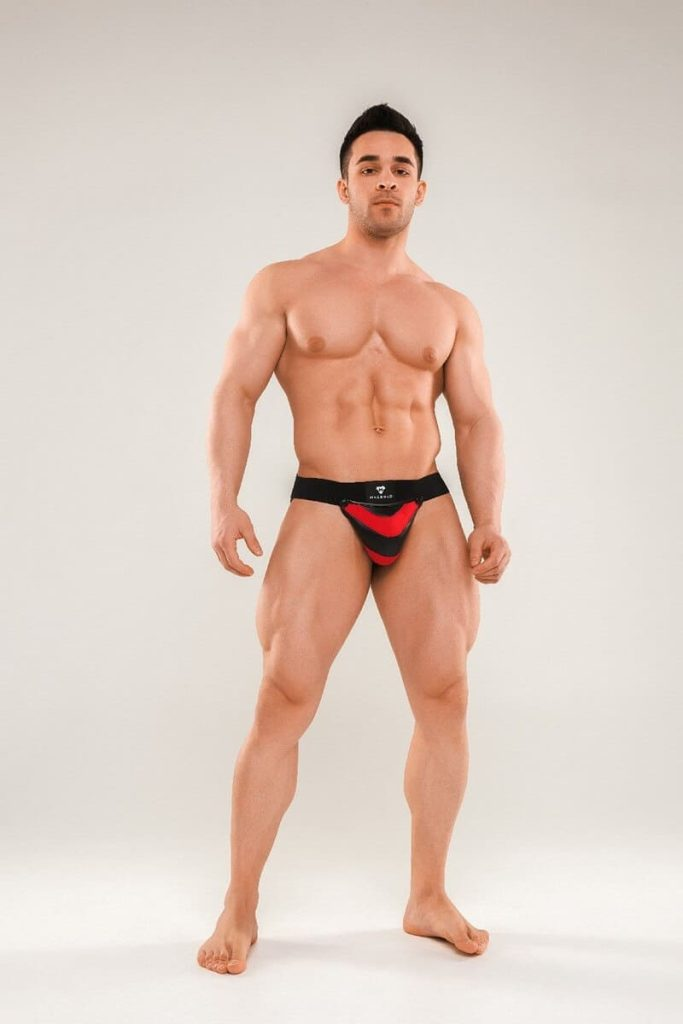 MASKULO Armored Next Jockstrap - Removable Pouch