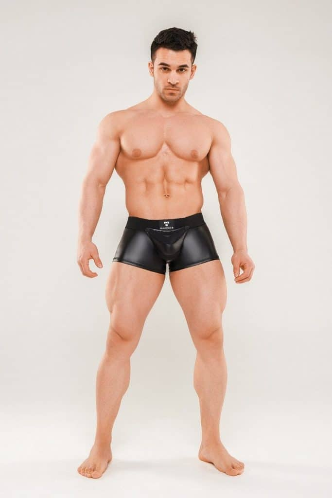 MASKULO Armored Next Trunk - Removable Pouch + Zip Up Rear