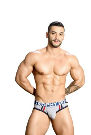 ANDREW CHRISTIAN Trophy Boy Brief, Grey