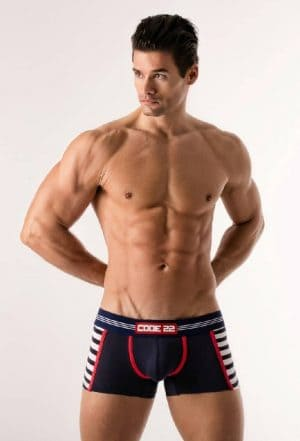 CODE22 Sailor Boxer, Red