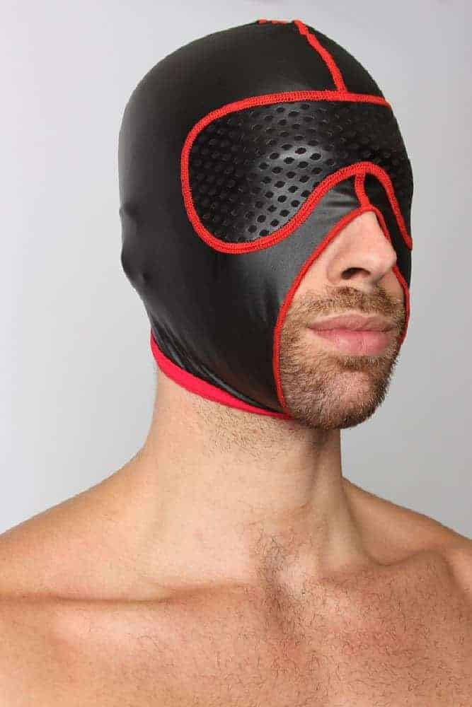 CELLBLOCK13 Gambit Blackout Leatherette Hood