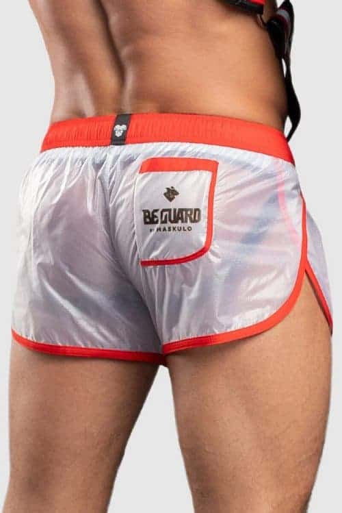 MASKULO BEGUARD TRANSPARENT CLUB SHORT