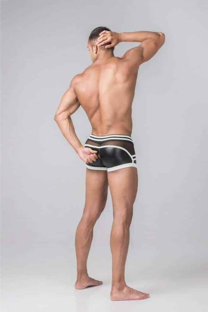 MASKULO Youngero Generation Y Trunk with Zip Up Rear & Removable Pouch