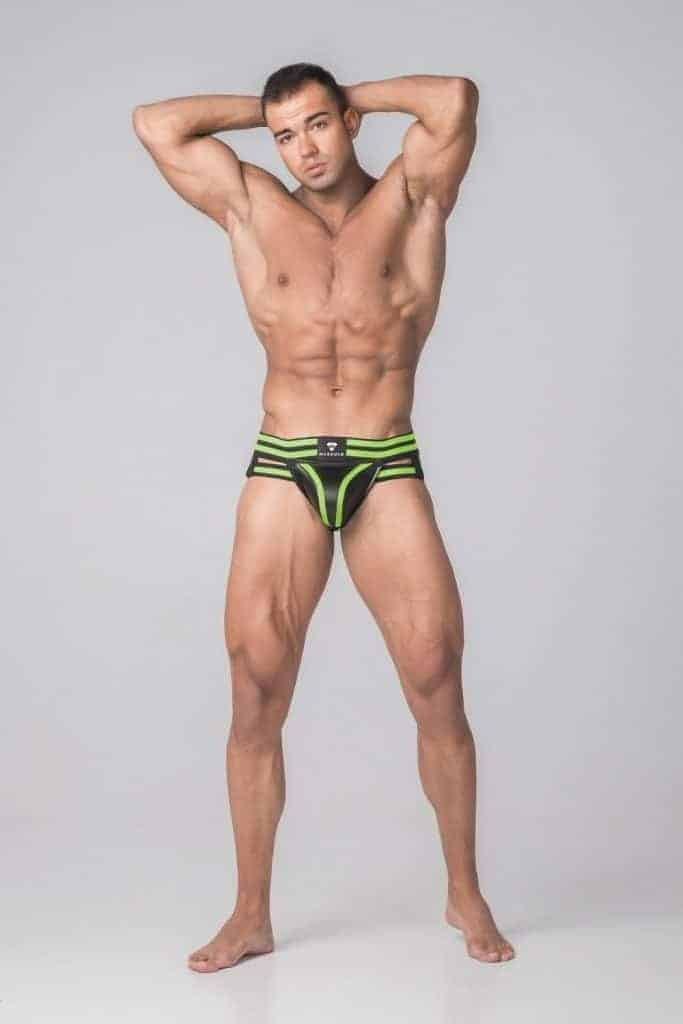 MASKULO Youngero Generation Y Jockstrap with Removable Pouch