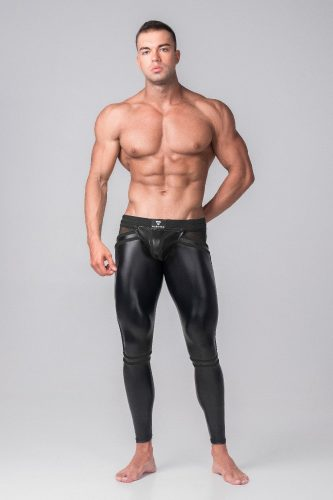 MASKULO Youngero Generation Y Legging with Zip Up Rear + Removable Pouch