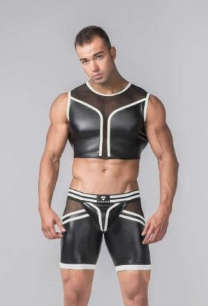 MASKULO YOUNGERO CROP TOP