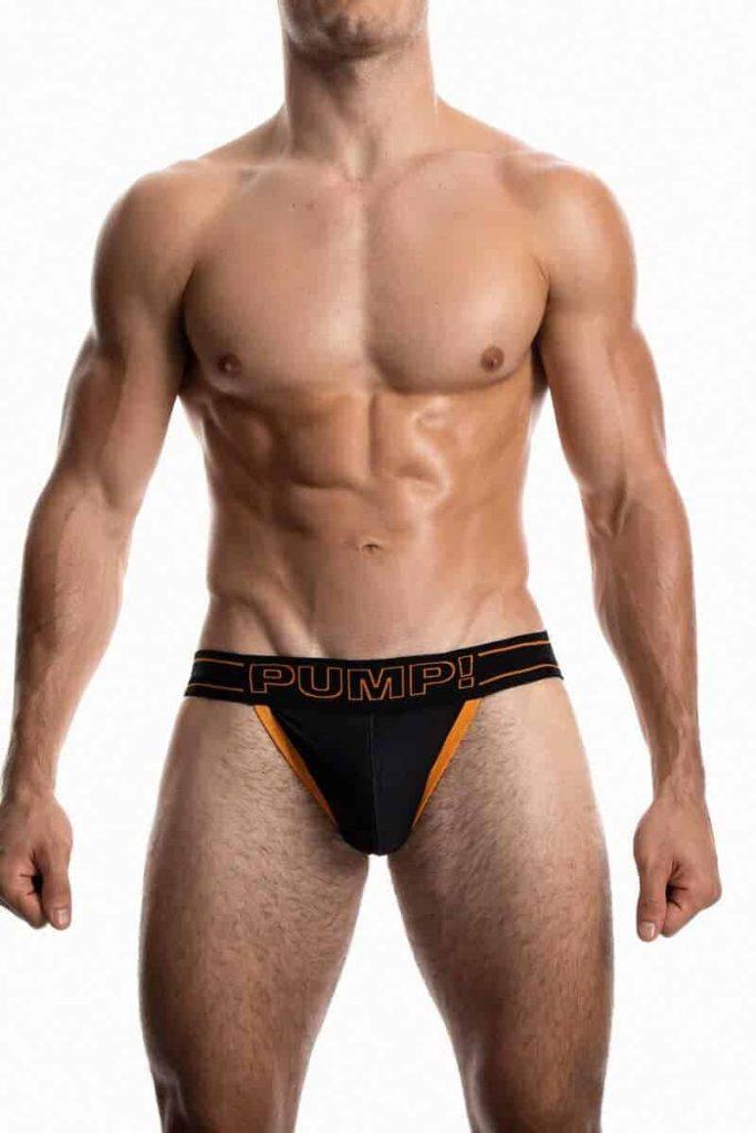PUMP Underwear NightLight Cotton Mesh Jock