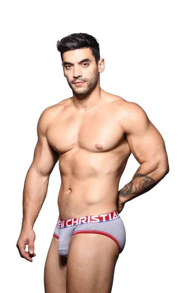 ANDREW CHRISTIAN Almost Naked Cotton Brief with Hang Free Pouch