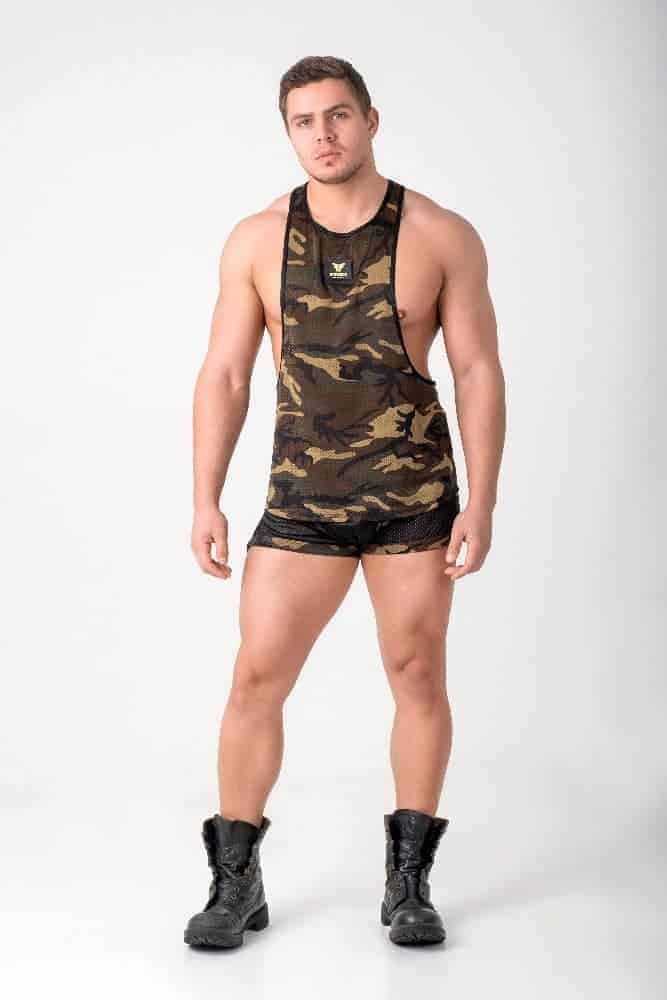 MASKULO Enforce Mesh Tank Top