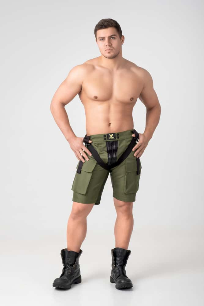 MASKULO ENFORCE CARGO SHORTS
