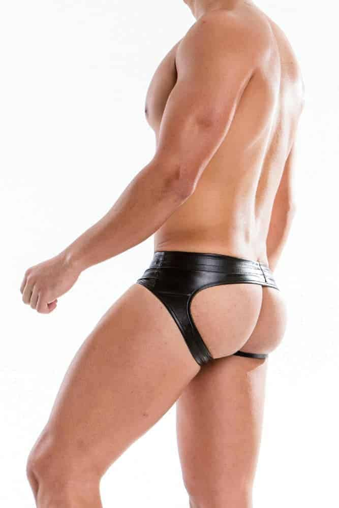 MODUS VIVENDI Bottomless Leather Brief