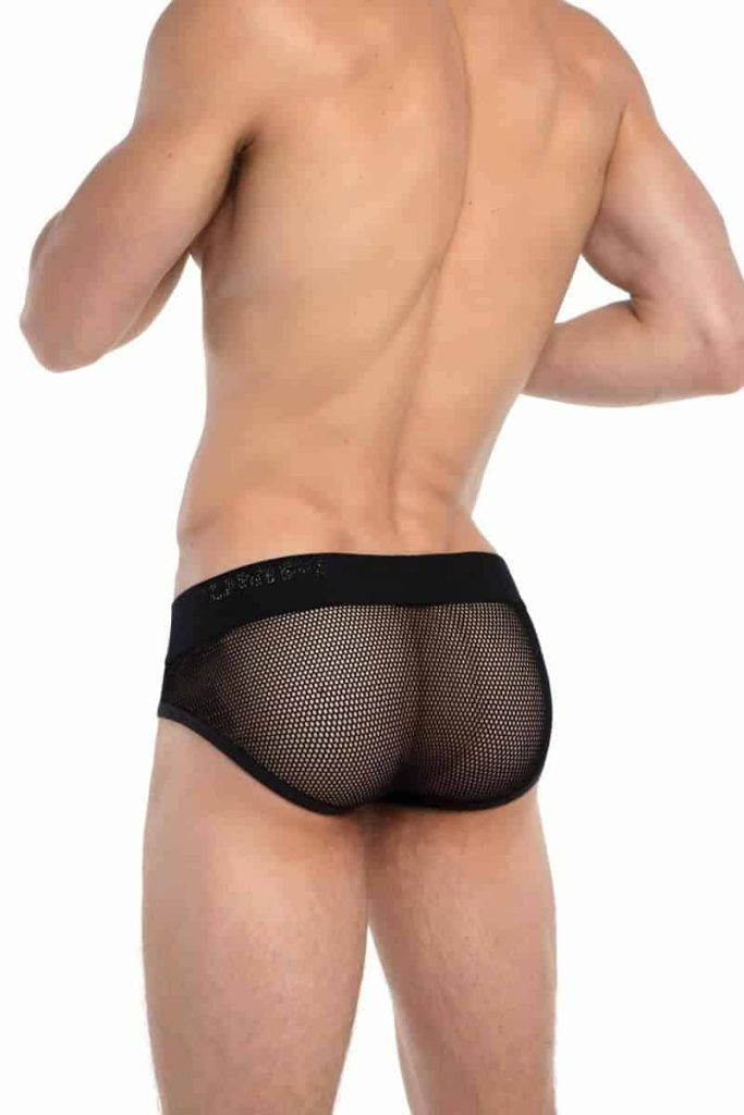 PUMP Switch Breathable + Semi See-Through Mesh Brief