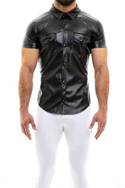 MODUS VIVENDI Mens Leather Shirts