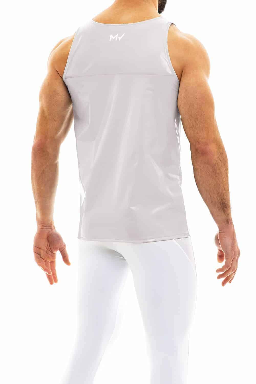 MODUS VIVENDI Mens PVC Vinyl Vest
