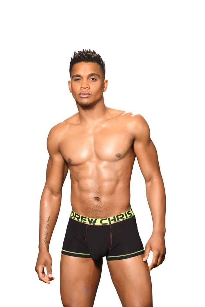 ANDREW CHRISTIAN Almost Naked Cotton Boxer with Hang Free Pouch