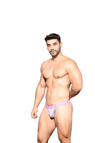 ANDREW CHRISTIAN Mens Happy Jockstrap with Almost Naked Hang Free Pouch