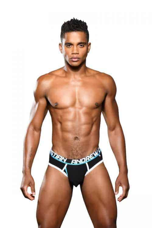 ANDREW CHRISTIAN Fly Brief with Almost Naked Hang Free Pouch