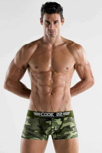 CODE22 Army Boxer Trunk