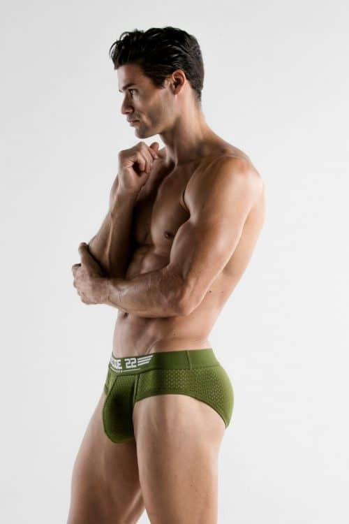 MENS KHAKI BRIEF