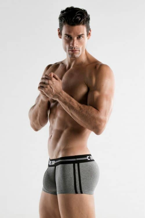 MENS PADDED BOXER UNDERWEAR