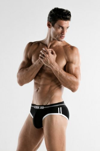 MENS PADDED BRIEF