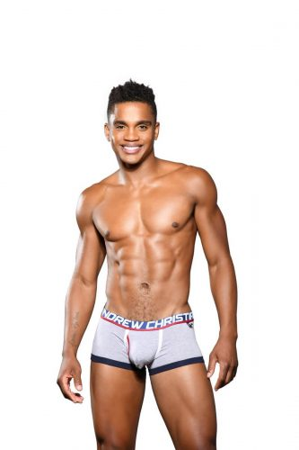 ANDREW CHRISTIAN Fly Boxer with Almost Naked Hang Free Pouch
