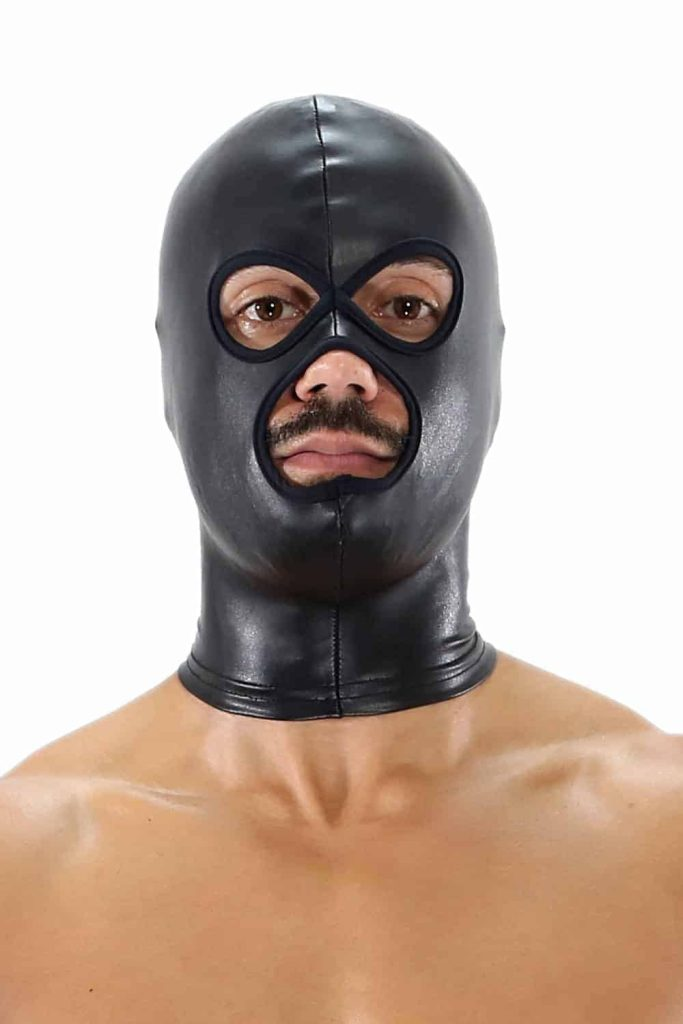 TOF PARIS Fetish Leatherette Hood