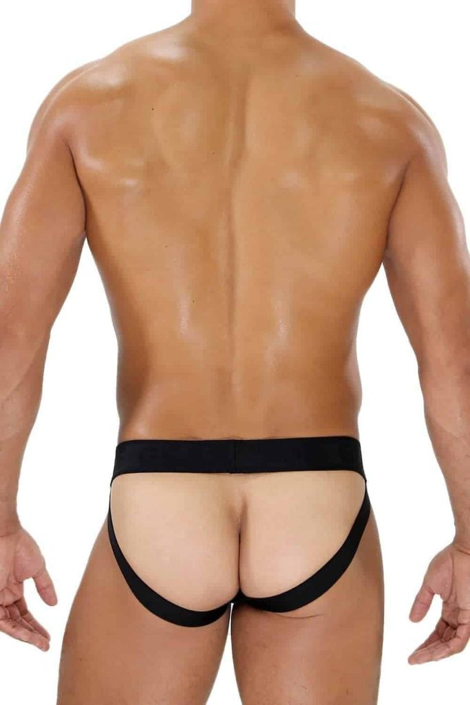 TOF PARIS Leatherette Fetish Jockstrap