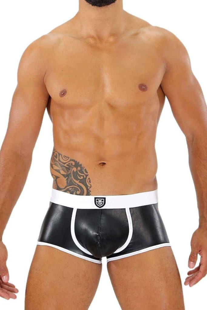 TOF PARIS Fetish Leatherette Boxer