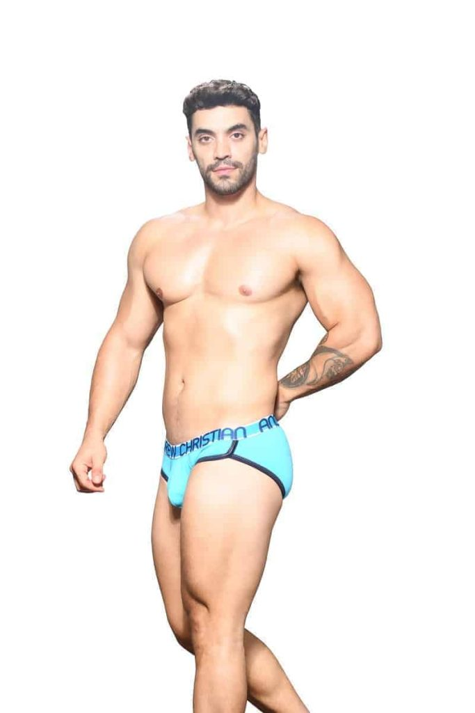 ANDREW CHRISTIAN CoolFlex Breathable Modal Brief with Enhanced Pouch