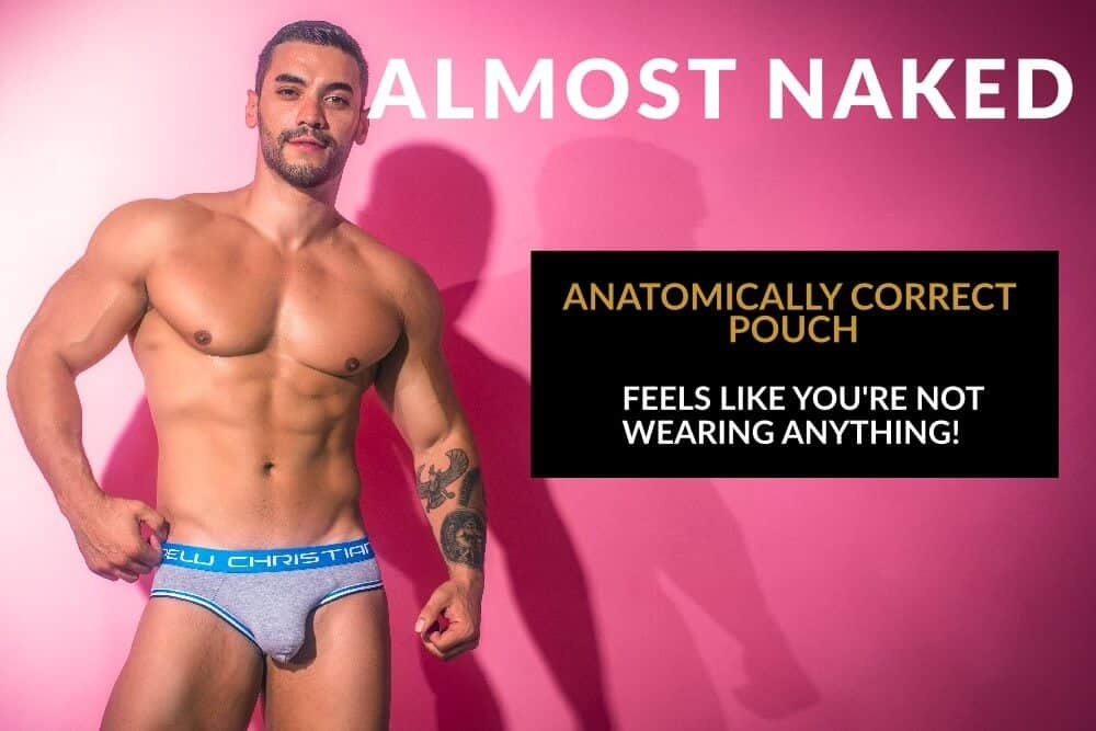 ANDREW CHRISTIAN ALMOST NAKED UNDERWEAR
