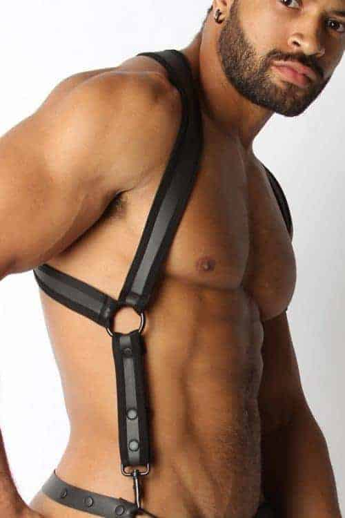 CELLBLOCK 13 REBEL HARNESS NEOPRENE