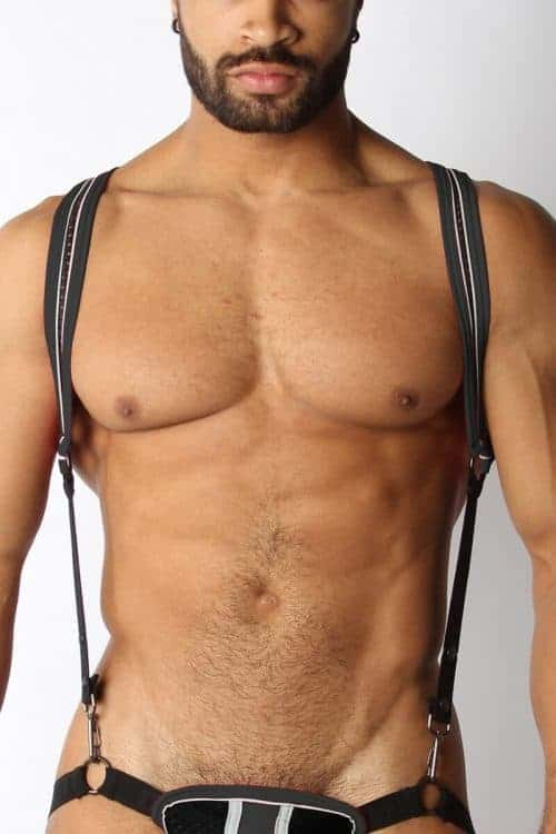 CELLBLOCK13 X-BACK HARNESS MESH