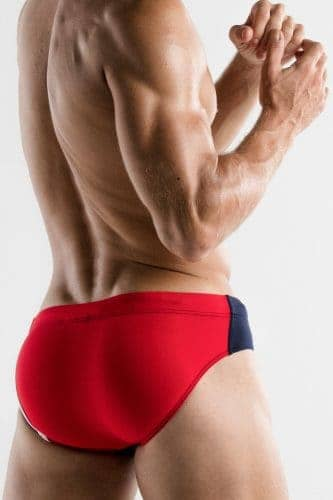 CODE22 Racer Swim Brief with Power Shape Pouch