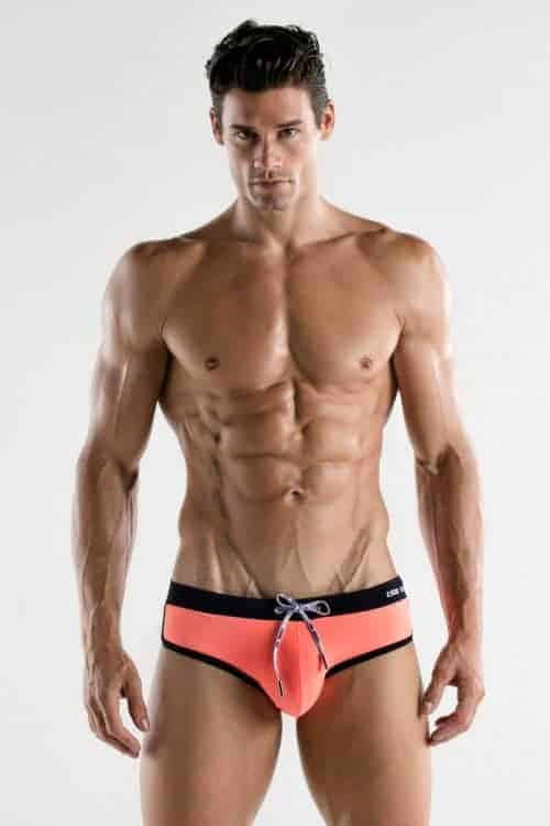 CODE22 Classic Swim Brief with Padded Enhancement Pouch