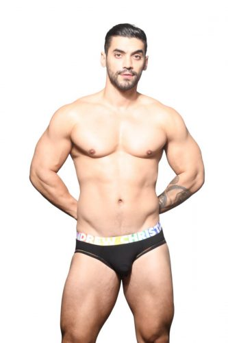 ANDREW CHRISTIAN Pride Brief with Almost Naked Pouch