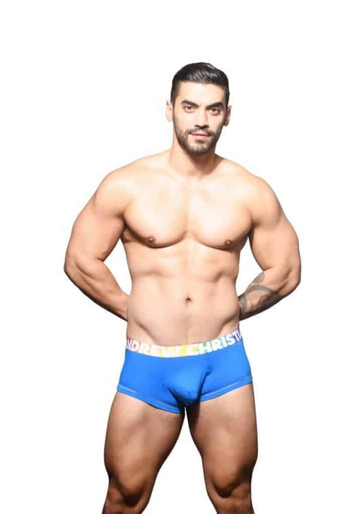 ANDREW CHRISTIAN Pride Boxer with Almost Naked Pouch