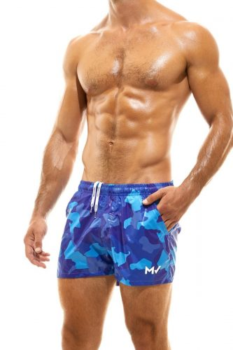 MODUS VIVENDI Recycled Camo Swim Shorts