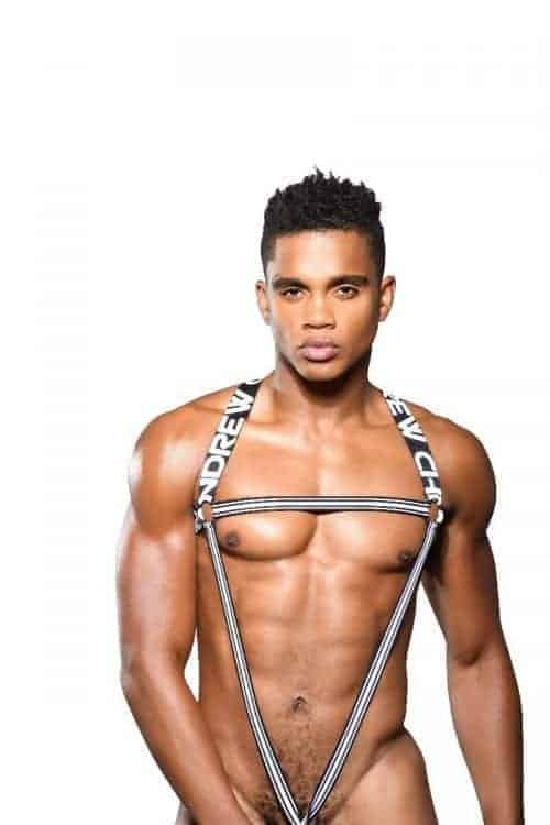Andrew Christian Body Harness with C-Ring